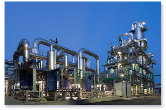 Novamont first commercial scale bio based intermediate chemical plant